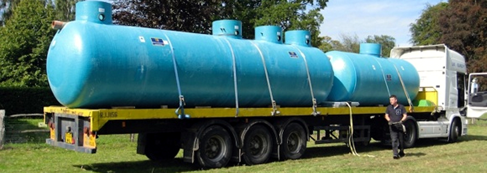 Sewage treatment plants - septic tanks