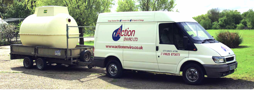 Action Enviro - Sussex's No.1 Sewage & Drainage Company